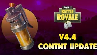 Fortnite weekly patch notes 4.4 content update, but i cut the crap