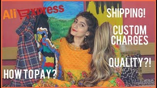 HOW TO ORDER FROM ALIEXPRESS? !Orders, HAUL and Review    Anushae Says