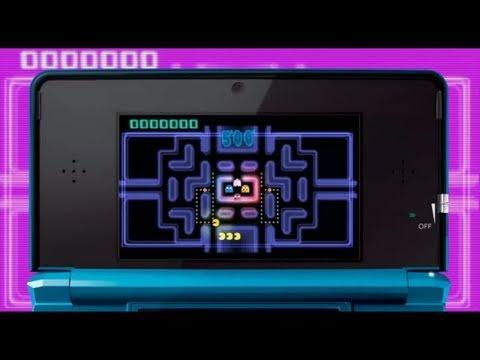 PAC-MAN & Galaga DIMENSIONS - N3DS - Pac-Man CE And Galaga Legions