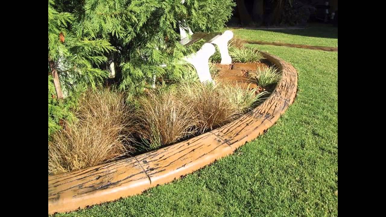 Cheap Garden Edging Decorations Ideas YouTube