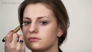 Корректоры. Нанесение вокруг глаз. Макияж с Жанной.(Как правильно использовать корректоры на лице и в области глаз.Базовые средства, их отличия,способы нанесе..., 2012-03-16T22:20:31.000Z)