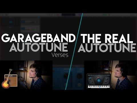 GarageBand Auto-Tune (free) Vs. The REAL Auto-Tune ($299)