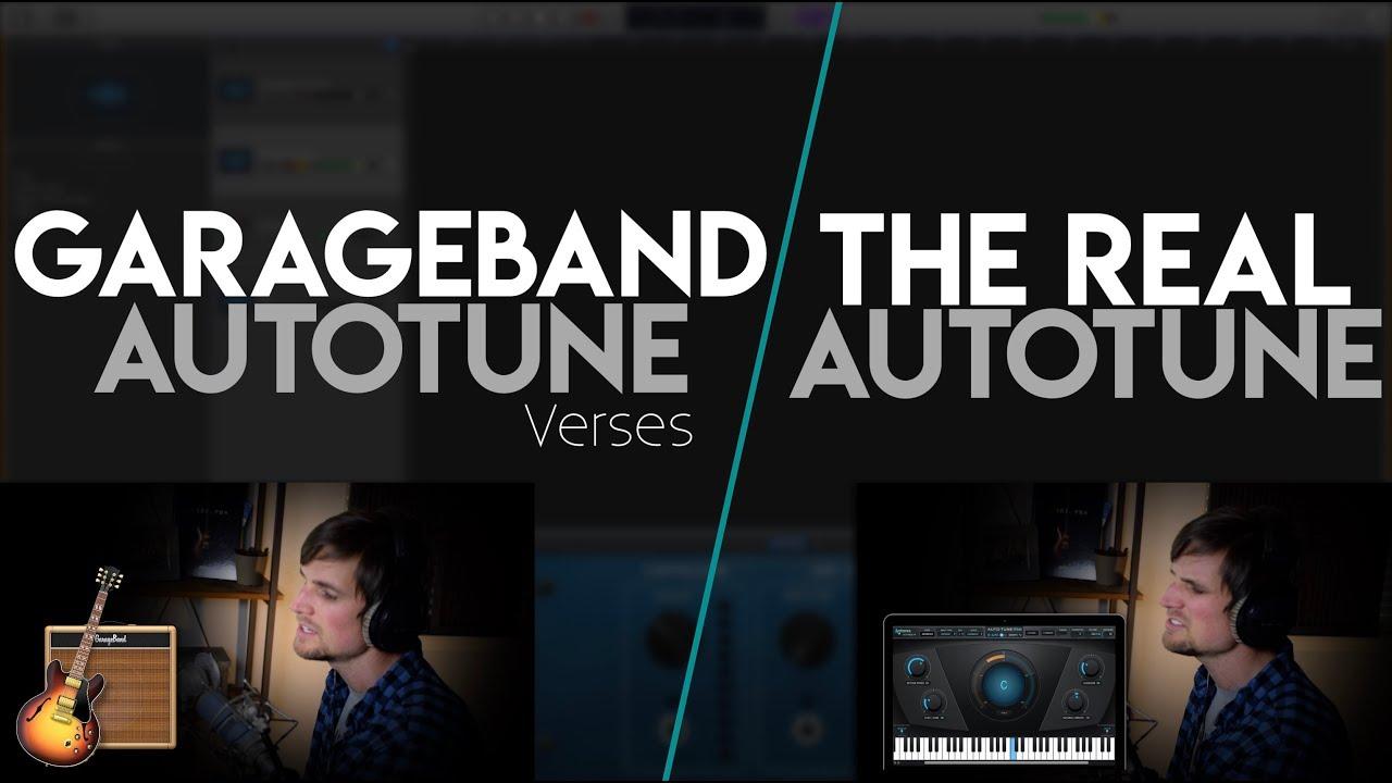 GarageBand Auto-Tune (free) Vs  The REAL Auto-Tune ($299)