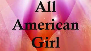 Carrie Underwood - All-American girl  LYRICS ON SCREEN