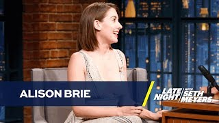 Alison Brie Snagged Her GLOW Role by Freestyling about Lady Parts