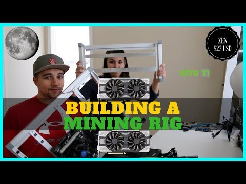 Building A GPU Mining Rig - 6x 1070 TI To Mine Zcash, ZenCash, And Vertcoin