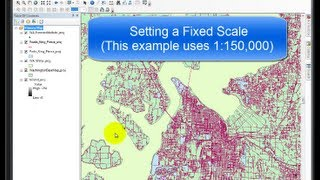 Fixed Scale | a GIS Video Tutorial by Gregory Lund