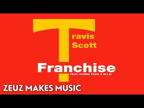 FRANCHISE by Travis Scott but it's lofi hip hop radio - beats to relax/study to.
