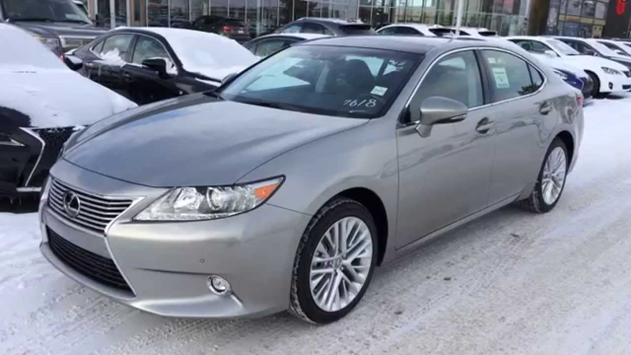 new atomic silver 2015 lexus es 350 4dr sdn fwd executive package. Black Bedroom Furniture Sets. Home Design Ideas