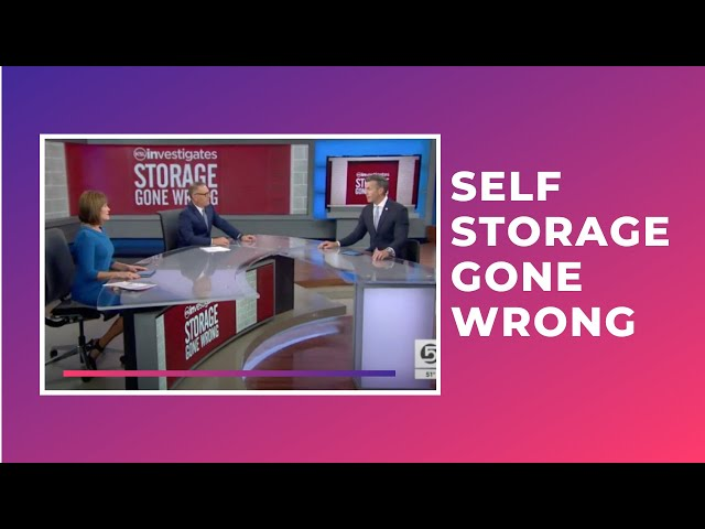 Self Storage Gone Wrong!
