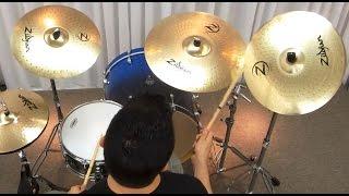 Pratos Zildjian New Planet Z (2014) Cymbal Sound Check com Júnior Vargas