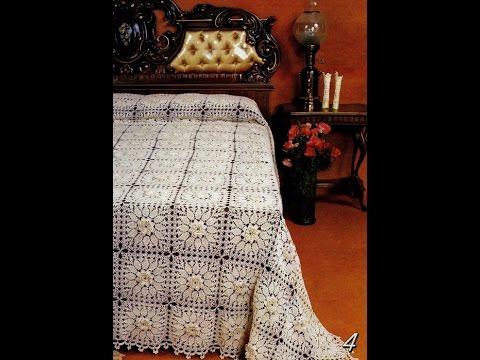 Crochet Patterns For Free Crochet Bedspread 1729 Youtube