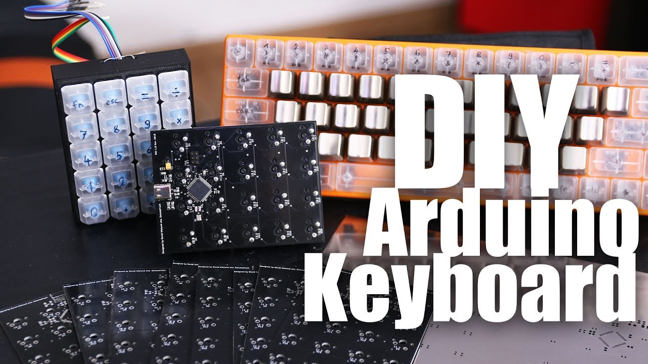 DIY Arduino Mechanical Keyboard - First Prototype