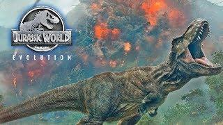 Jurassic World Evolution ★ Die Dinos sind frei!! ★ Live #03 ★ PC Gameplay Deutsch German