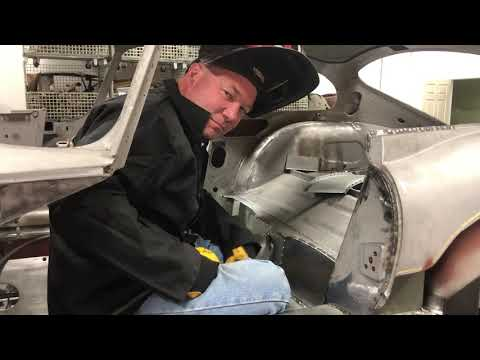 Jaguar E-Type – How to Install Panels with Plug Welding