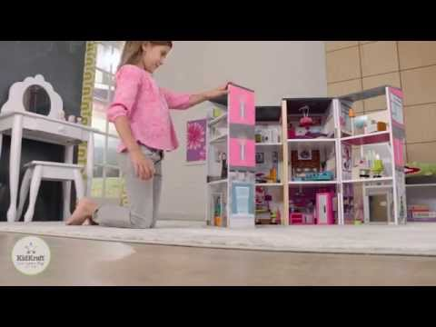 Girls Contemporary Deluxe Dollhouse