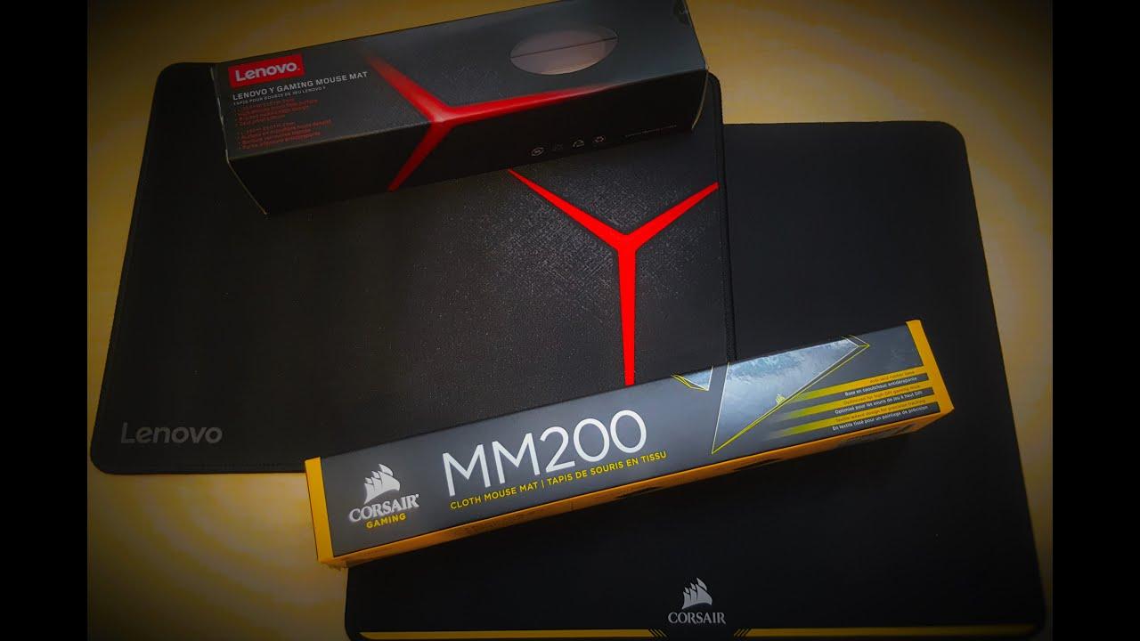 Lenovo Y Gaming Mouse Pad Vs Corsair Mm200 Gaming Mouse