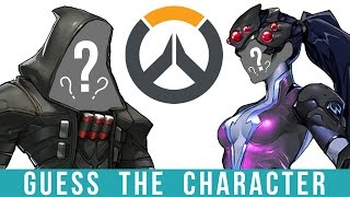 Overwatch Quiz - GUESS The Character! (HARD)