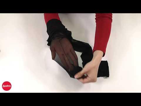 Prezentare ciorapi cu dunga Marilyn Lux Line Art Deco 20 den