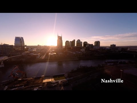 Nashville TN by Drone in 4K