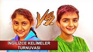 Repeat youtube video İngilizce Kelimeler Turnuvası