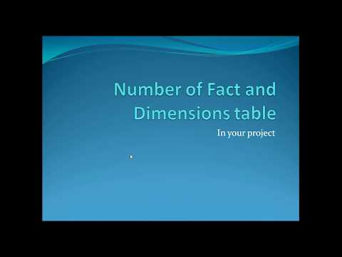 DWH Interview Question :Number Of  Fact And Dimension Table In Project TechCoach