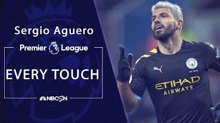 Every sergio agüero touch in his hat trick v. aston villa | premier league nbc sports