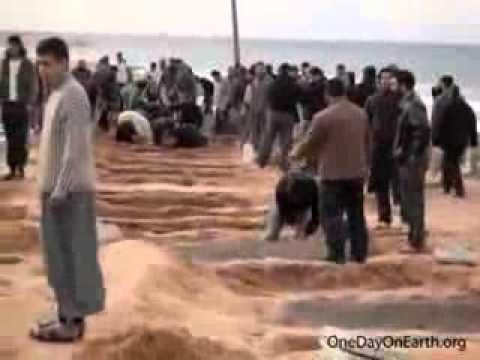 Mass Burial Tripoli, Libya