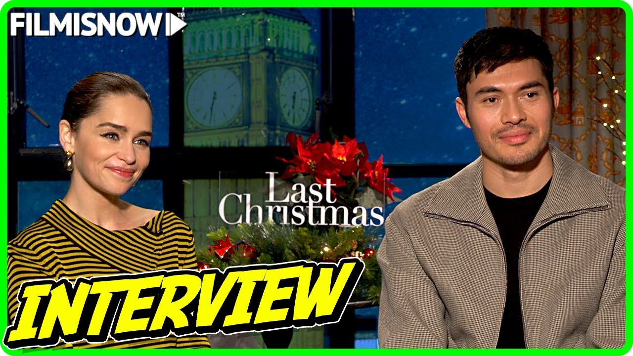 LAST CHRISTMAS | Emilia Clarke & Henry Goldingy talk about the movie - Official Interview