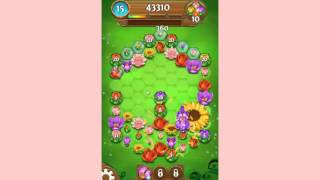 Blossom Blast Saga Level 40