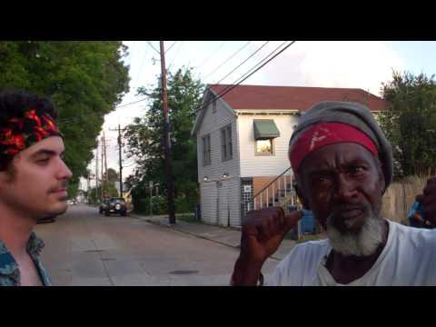 John the Revelator visits the hippie festival