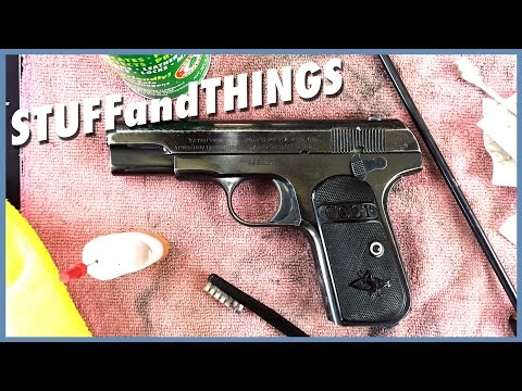 COLT MODEL 1903 POCKET HAMMERLESS - Cleaning a Classic