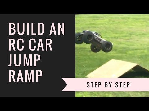 How To Build An RC Car Jump - Step By Step Guide