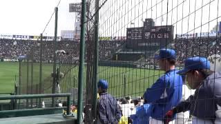 2013年3月23日 選抜2回戦 対益田翔陽戦.