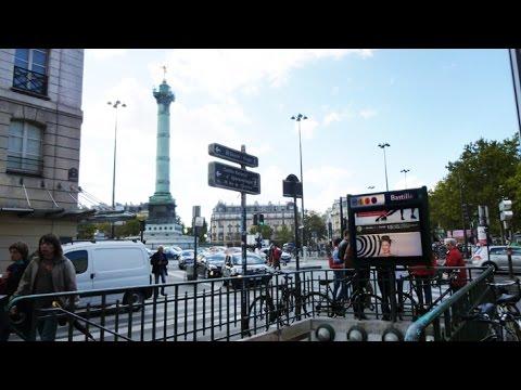 France - Paris - La Bastille et Place des Vosges