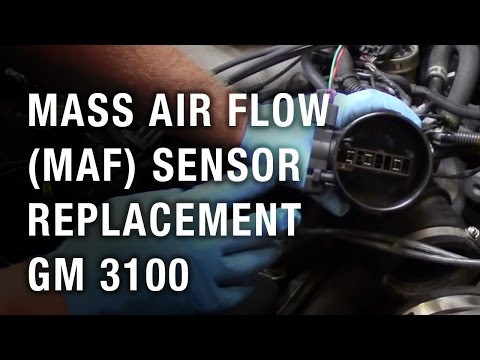 Mass Air Flow (MAF) Sensor Replacement - GM 3100