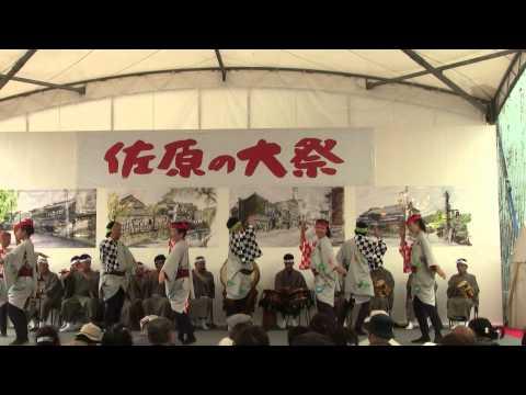 香取市 佐原の大祭秋 新和下座連H271011お祭ステージ