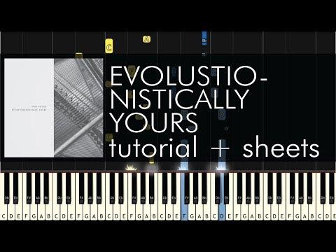 Józef Gatysik - Evolutionistically Yours - Piano Tutorial - Synthesia