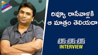 Shakti Soundar Rajan Perfect Reply to Critics | Tik Tik Tik Movie Interview | Jayam Ravi | Nivetha