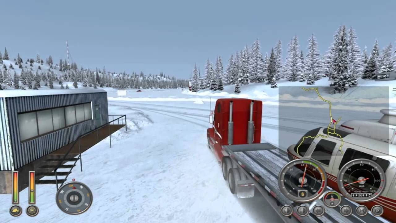 Ice truckers game 2 stickpage 2 player games