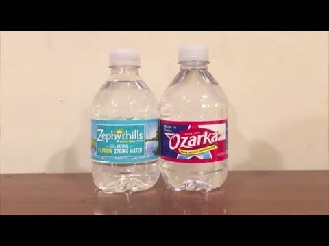 Jon Drinks Water #5607 Zephyrhills Spring Water VS Ozarka Spring Water