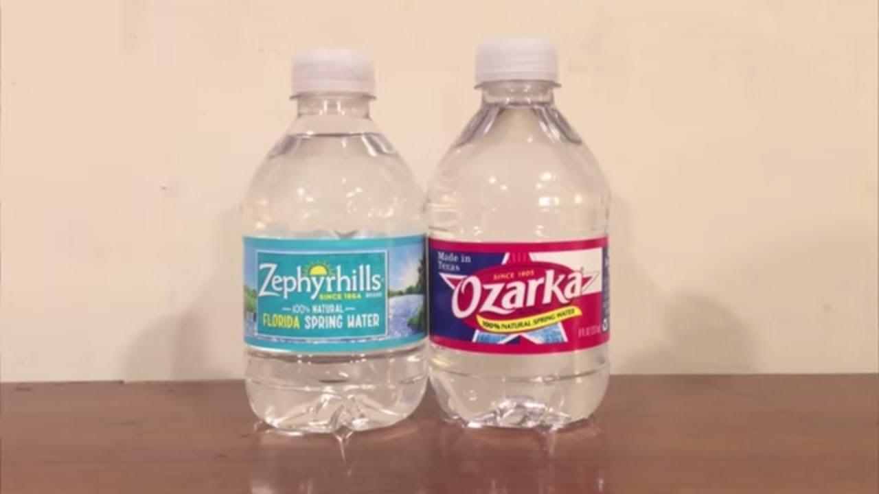 Jon Drinks Water 5607 Zephyrhills Spring Water Vs Ozarka Spring