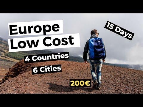 Europa Low Cost! 200€ per 15 giorni 6 città e 4 paesi