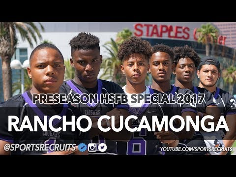 Rancho Cucamonga: 2017 HS Football Preseason Special: Cougars hit Downtown LA with @SportsRecruits