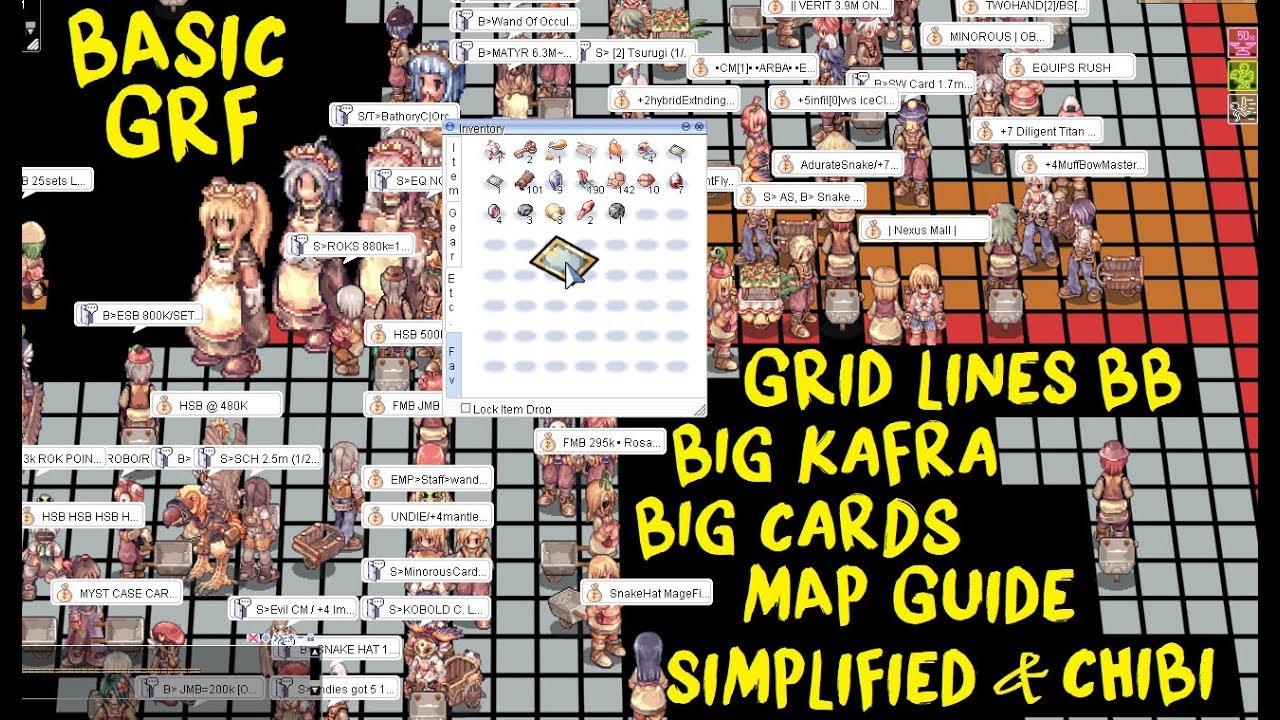 Basic GRF Ragnarok Online Tutorial by TheBigBenj