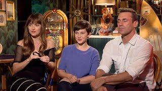 Bad Times At The El Royale Dakota Johnson, Jon Hamm, Cailee Spaeny Interviews