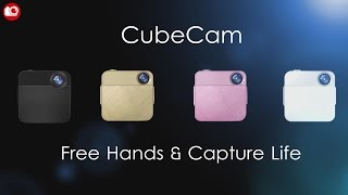 kehan cubecam official introduction wearable camera for lifelogging live stream