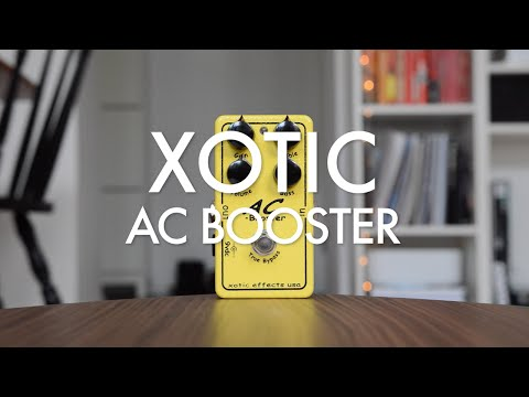 Xotic AC Booster Demo