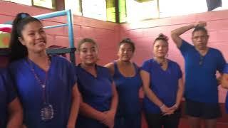 Visit to political prisoners in La Esperanza prison, Tipitapa - Irlanda Juarez (part 3)