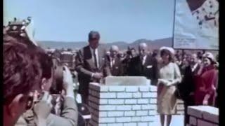 December 17, 1961 - President John F. Kennedy visit El Techo housing project in Bogota, Colombia